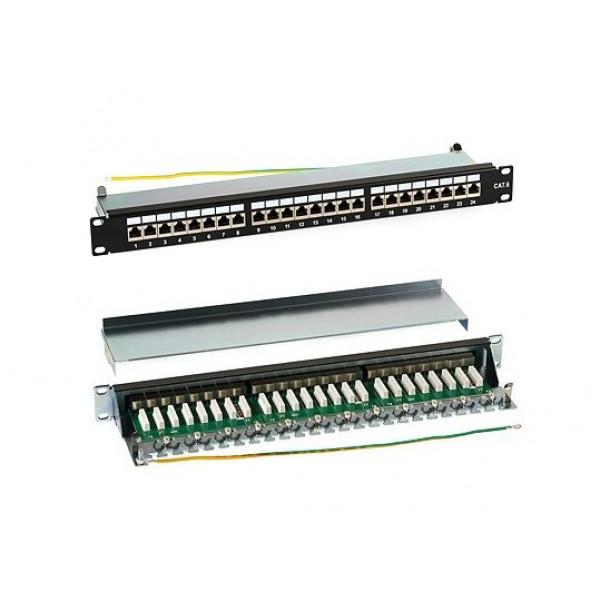 Patch Panel 24P SFTP CAT6a 1U