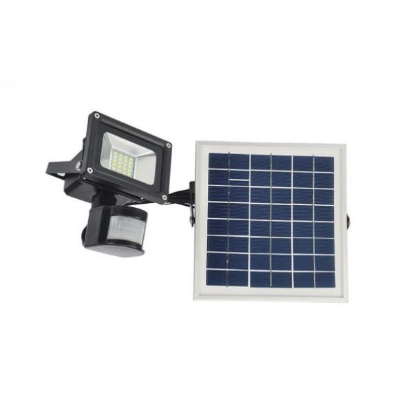 Solarni PIR reflektor 2AH 12V 10W