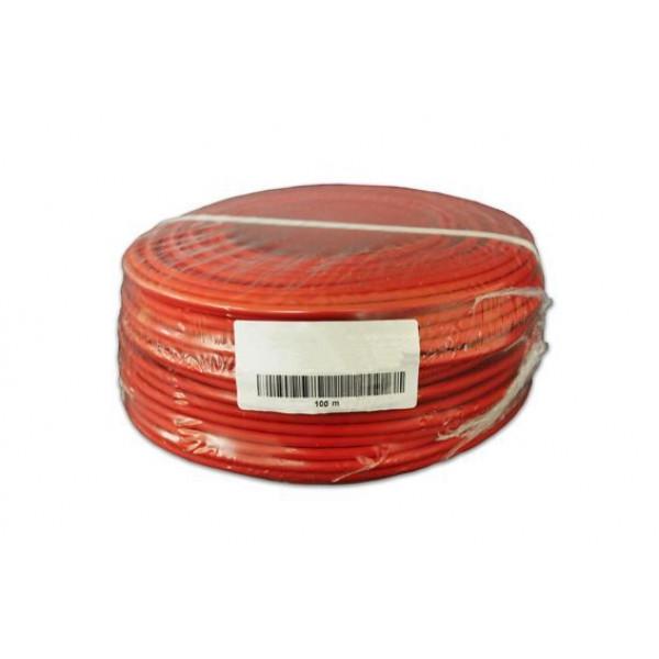 Solarni eno žilen kabel 2.5mm2 Red