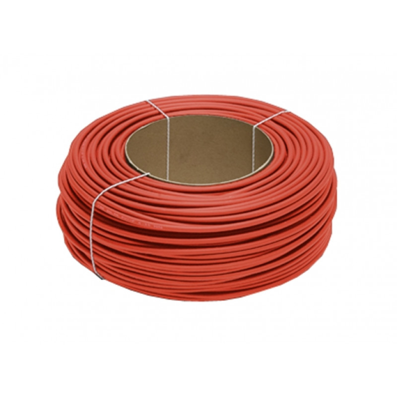 Solarni eno žilen kabel 6mm2 Red