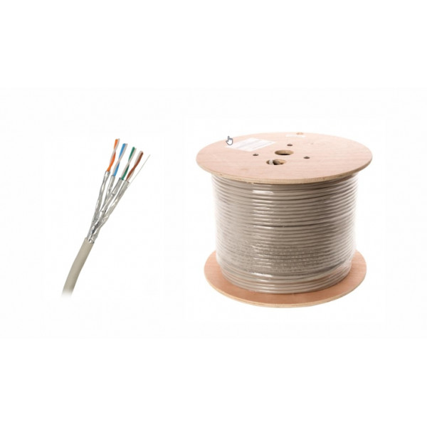 Kabel Grey STP SXKD Cat6a - 500m