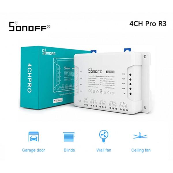 WiFi SonOff stikalo 4CH PRO R3