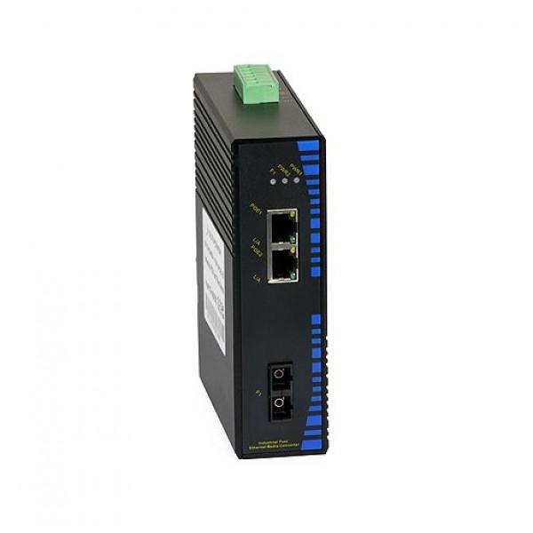 UPower Industri PoE Switch 112P 2xPoE 1xSC 100M 20km