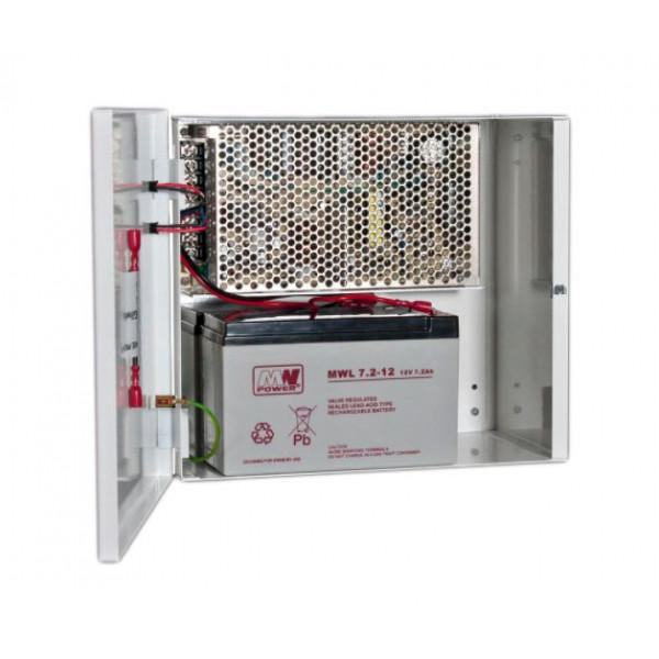 Zalogovno UPS z zaščito ZBF 24V-1.2A 2x 7-9AH