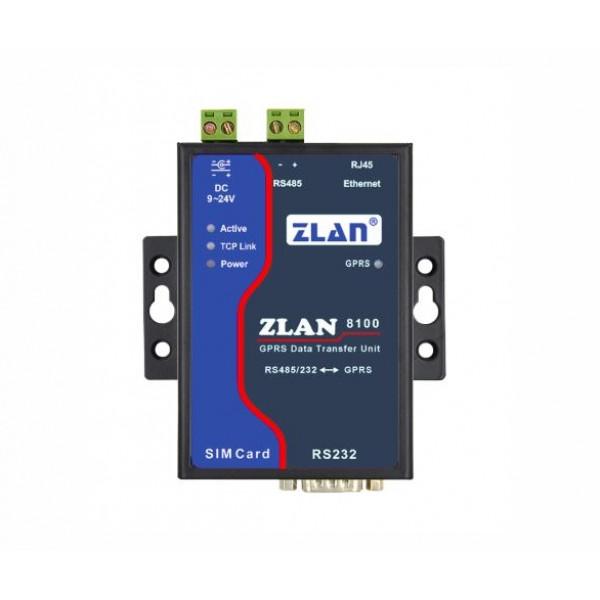 ZLan8100 RS232/485 na GSM/GPRS/ETH