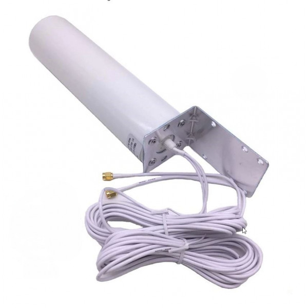 Mobilna Antena LTE/WiFi MIMO 5dB 2xSMA