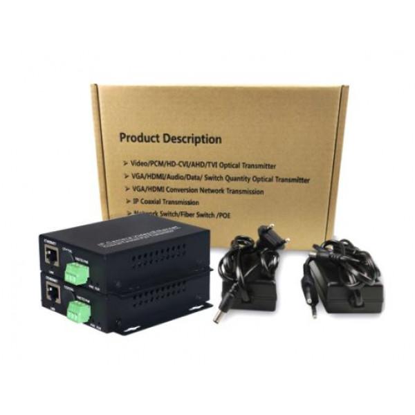 Kit IP Ether pretvornika VDSL Pair CCTV